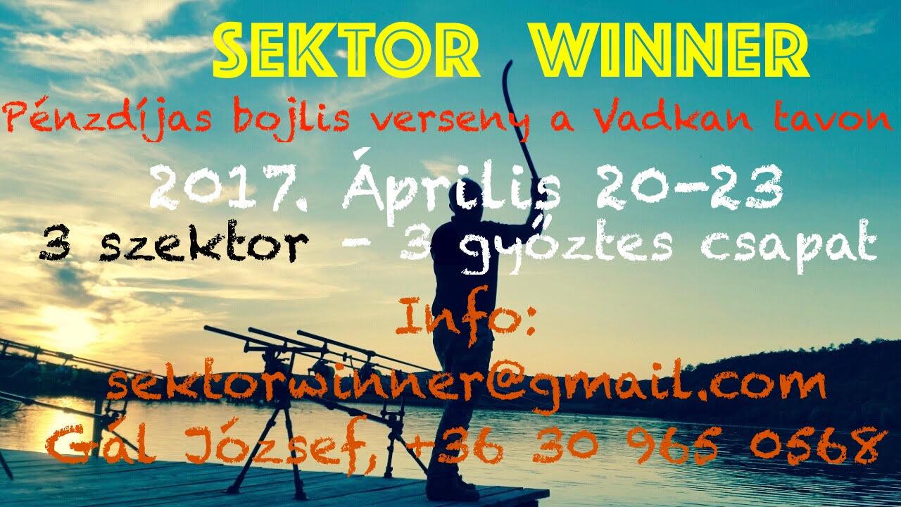 Sektor Winner bojlis verseny